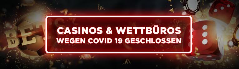 covid19 schliesst casinos und wettbueros